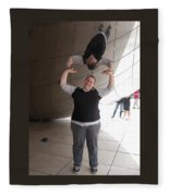 Heavy Lifting Fleece Blanket
