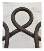 Heavy Metal Bends Fleece Blanket