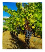 Heavy On The Vine At The High Tower Winery  Fleece Blanket
