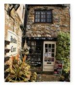 Hebden Court - Peak District - England Fleece Blanket