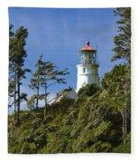 Heceta Head Lighthouse 1 B Fleece Blanket
