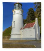 Heceta Head Lighthouse 1 C Fleece Blanket