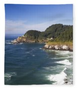 Heceta Head Lighthouse 2 A Fleece Blanket