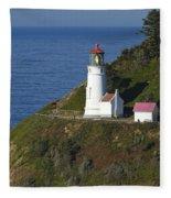 Heceta Head Lighthouse 2 G Fleece Blanket