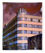 Hecht Warehouse Fleece Blanket