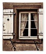 Heidelberg Window Fleece Blanket