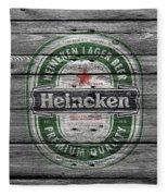 Heineken Fleece Blanket
