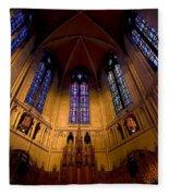 Heinz Memorial Chapel Pittsburgh Pennsylvania Fleece Blanket