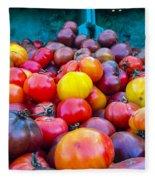 Heirloom Tomatoes V. 2.0 Fleece Blanket