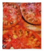 Heirlooms With Salt And Pepper Fleece Blanket