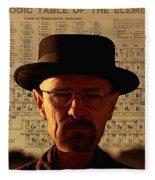 Heisenberg Fleece Blanket
