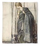 Helena, Illustration From Midsummer Fleece Blanket