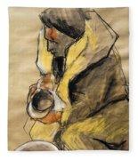 Helene #10 - Figure Series Fleece Blanket