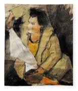 Helene #12 - Figure Series Fleece Blanket