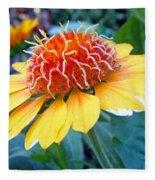 Helenium Flowers 2 Fleece Blanket