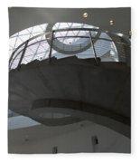 Helical Staircase Fleece Blanket