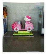Hello Kitty Car Fleece Blanket