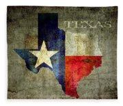Hello Texas Fleece Blanket