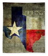 Hello Texas Fleece Blanket