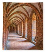 Helsingor Monastery Painting Fleece Blanket