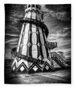 Helter Skelter Mono Fleece Blanket