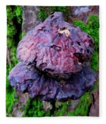 Hemlock Reishi Fleece Blanket