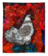 Hen Watch I Fleece Blanket