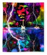 Hendrix Astro Man Fleece Blanket