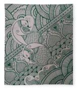 Henna Fleece Blanket