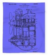 Henry Ford's Internal Combustion Engine Fleece Blanket