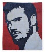 Henry Rollins Fleece Blanket