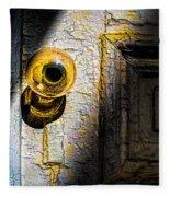 Her Glass Doorknob Fleece Blanket