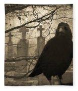 Her Graveyard Fleece Blanket