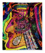 Her Majesty - Female Heroine   Fleece Blanket