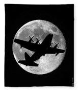 Hercules Moon Fleece Blanket