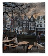 Kaizersgracht 451. Amsterdam. Holland Fleece Blanket