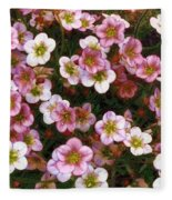 Here's Flowers For You Fleece Blanket
