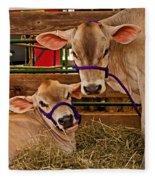 Heres Looking At You Fleece Blanket