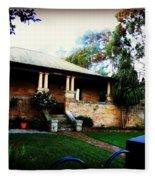 Heritage Sandstone House In Sydney Australia Fleece Blanket