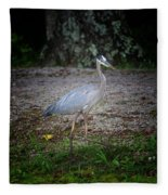 Heron 14-6 Fleece Blanket