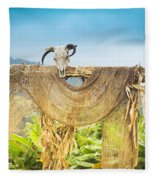 Heu-mann Fleece Blanket