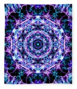 Hexagon Fleece Blanket