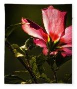 Hibiscus 03 Fleece Blanket