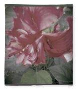 Hibiscus Dream Fleece Blanket