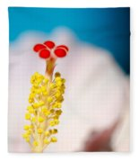 Hibiscus No. 2959 Fleece Blanket