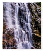Hickory Nut Falls Fleece Blanket