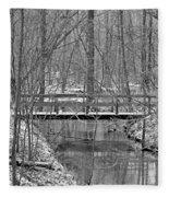 Hidden Bridge Fleece Blanket