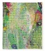 Hidden Forests IIi  Fleece Blanket