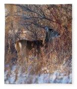 Hidden In The Trees Fleece Blanket