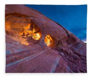 Hidden Light Fleece Blanket